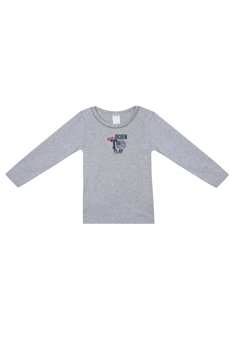 Bluza de casa - cu imprimeu text pe piept thumbnail