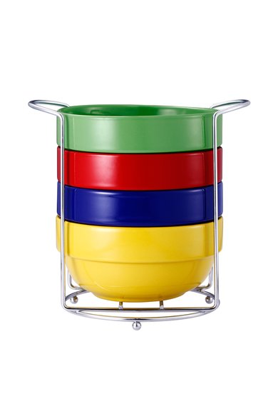 VABENE Set de boluri ceramice multicolore – 5 piese