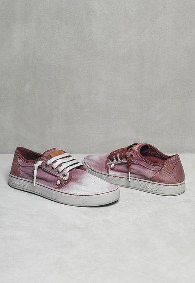 Satorisan Pantofi casual violet cu alb Heisei