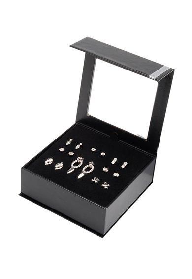Pierre Cardin Set de cercei argintii – 9 perechi