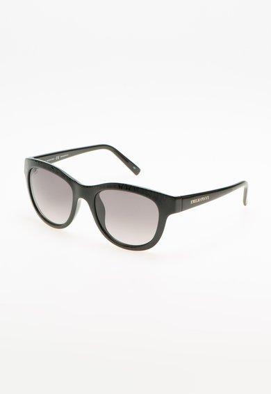 Ochelari de soare negri cu model reptila de la Emilio Pucci