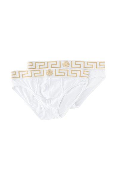 Versace Set de chiloti albi- 2 perechi