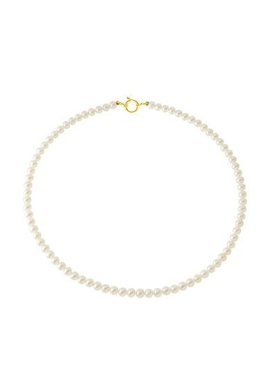 Perles Addict Colier alb din perle
