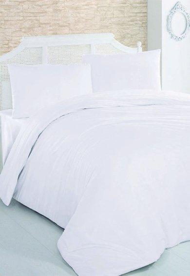 Leunelle Set de pat alb din material ranforce