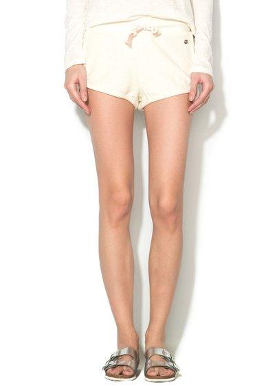 Pantaloni scurti texturati alb unt Electricbird