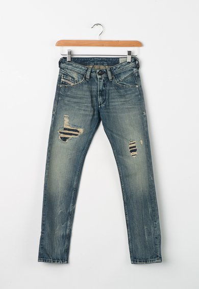 Jeansi conici bleu regular fit Belther