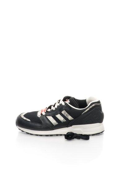 Pantofi sport negru cu gri pentru alergat