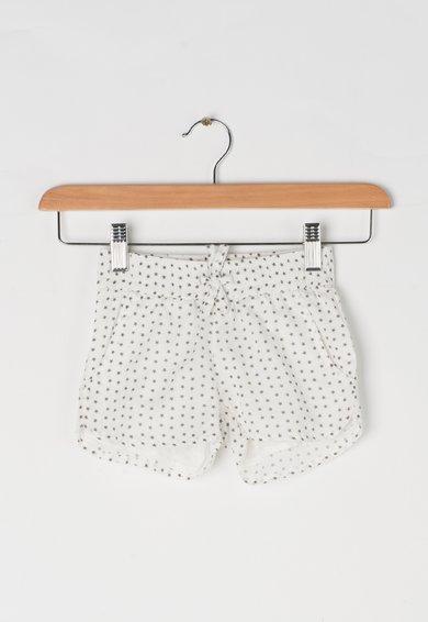 Pantaloni scurti albi cu imprimeu cu stele Celine