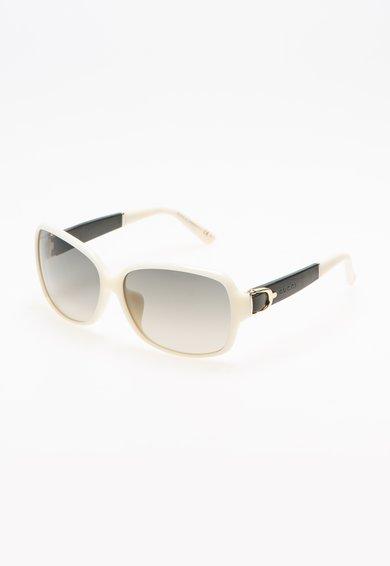 Gucci Ochelari de soare alb fildes cu negru