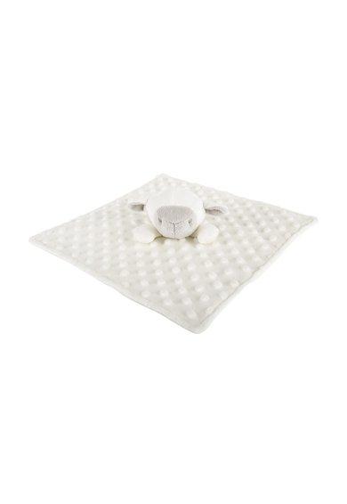 Paturica alb fildes cu design cu oaie Toudoux Sacha