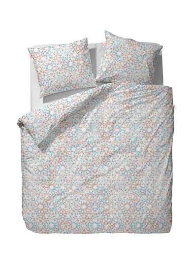 Set de pat multicolor cu imprimeu floral Caleido