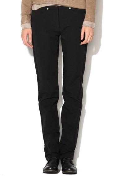 Pantaloni elastici negri Nelezes