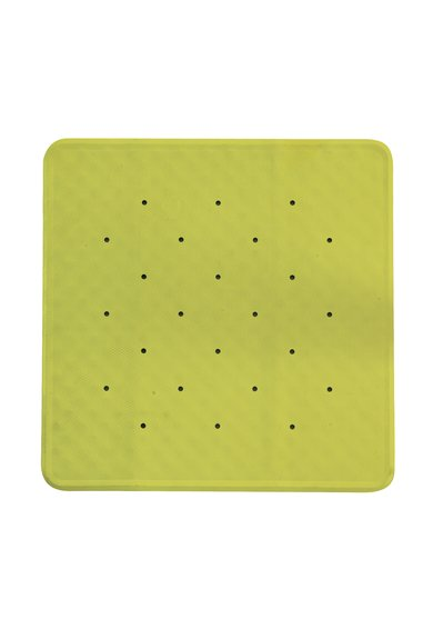 Covoras aderent patrat verde lime pentru cada de la Sorema