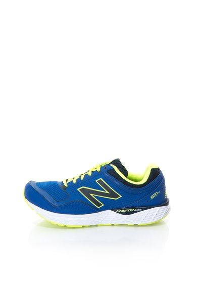 Pantofi de alergare albastru aprins cu logo 520 de la New Balance