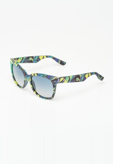 Ochelari de soare multicolori cu imprimeu marmorat de la Mcq Alexander McQueen
