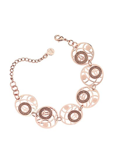 FashionDays.ro: Bratara auriu rose cu elemente rotunde JLo by Jennifer Lopez