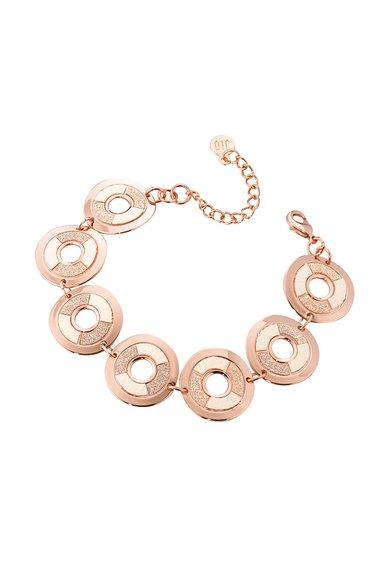 FashionDays.ro: Bratara auriu rose cu piele sintetica si particule stralucitoare JLo by Jennifer Lopez
