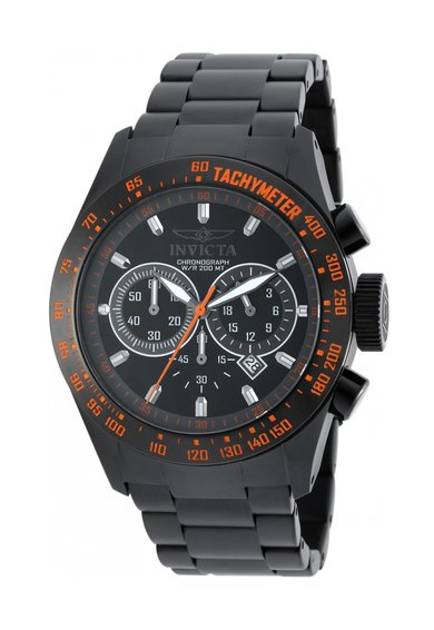 Invicta Ceas cronograf negru