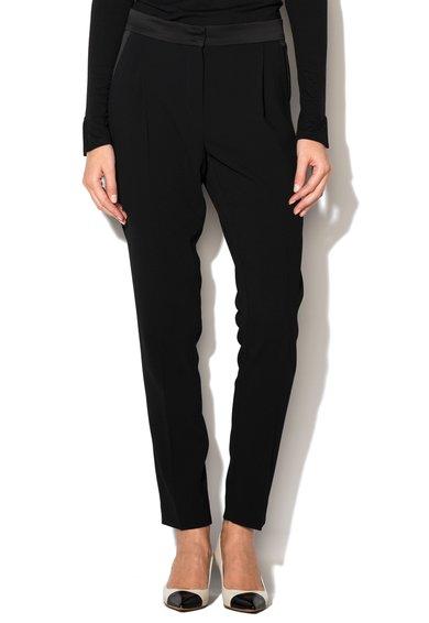 FashionDays.ro: Pantaloni negri Knut Marella ART 365