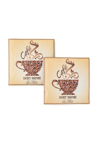 Le Blanc Set de saculeti parfumati cu aroma de cafea – 2 piese