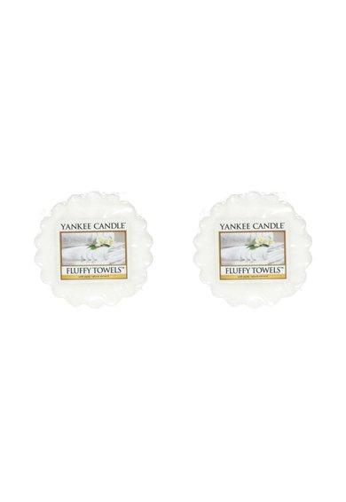 Set de tarte de ceara parfumata Fluffy Towels™ – 2 bucati
