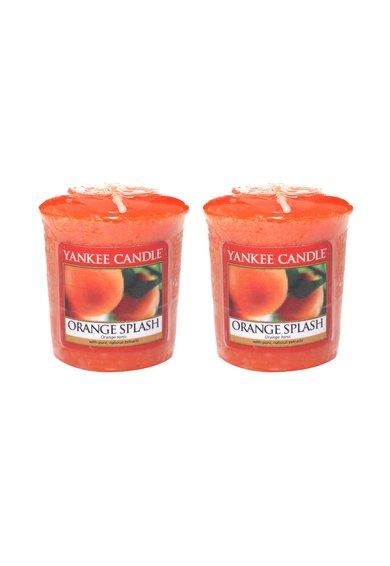 Set de lumanari parfumate Orange Splash - 2 bucati