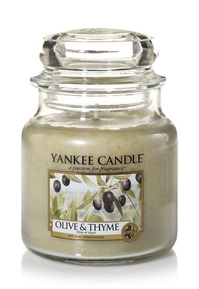 Lumanare parfumata in borcan mediu Olive&Thyme de la Yankee Candle