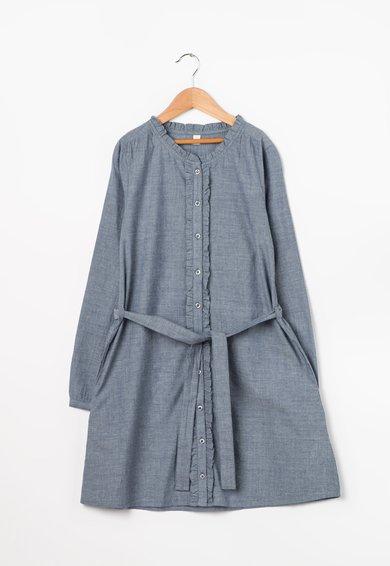 FashionDays.ro: Rochie tip camasa albastru cenusiu melange ESPRIT