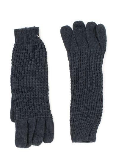 Manusi tricotate gri inchis melange Loja de la Pepe Jeans London