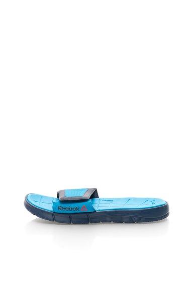 Ppuci bleumarin cu turcoaz cu velcro Z Supreme de la Reebok