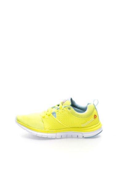Pantofi pentru alergare galben neon Zquick Dash