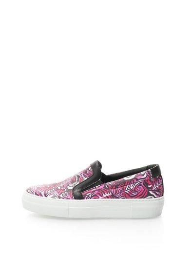 FashionDays.ro: Pantofi flatform slip-on multicolori Just Cavalli