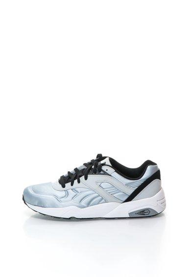 Pantofi sport argintii cu model in relief R698 de la Puma