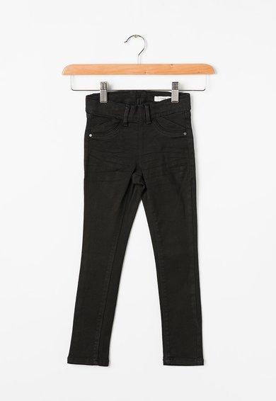 Name it Pantaloni negri skinny elastici