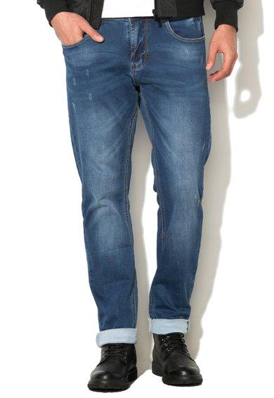 Jeansi albastru stins de la Zee Lane Denim
