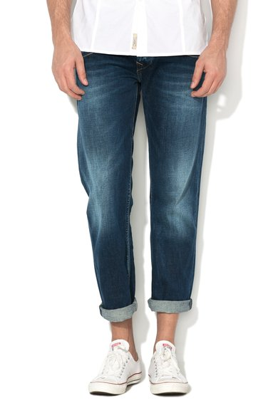 Jeansi drepti albastru inchis Tooting de la Pepe Jeans London