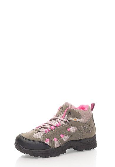 Pantofi trekking gri cu roz Hudson de la elementerre