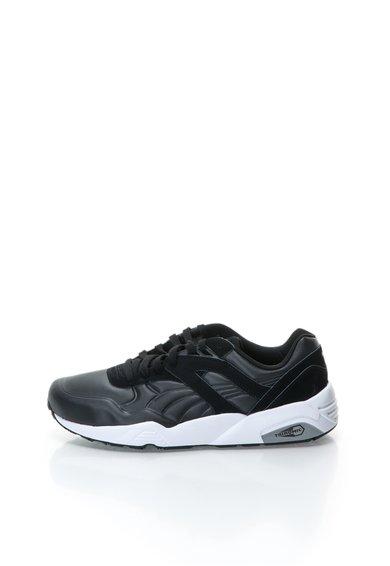 Pantofi sport negri cu model reliefat R698 de la Puma