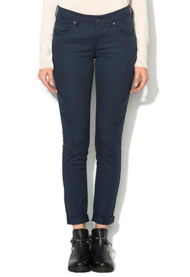 FashionDays.ro: Pantaloni conici slim fit bleumarin Doris Big Star