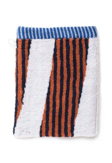 FashionDays.ro: Manusa de baie multicolora Stripy Kenzo Maison