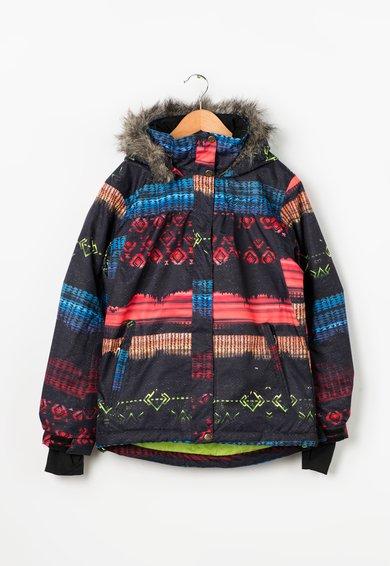 Jacheta multicolora pentru sporturi de iarna Leste de la Fundango