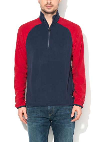 Bluza sport bleumarin cu rosu din fleece Ventilator de la ONeill