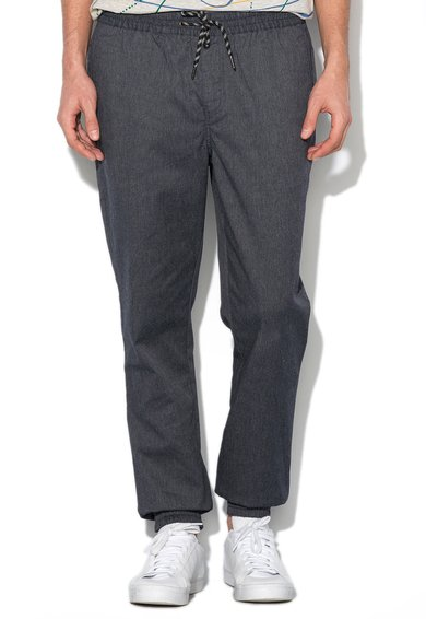 Mexx Pantaloni slim fit albastri din denim