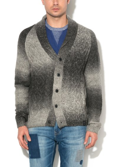 Pepe Jeans London Cardigan gri melange Allie