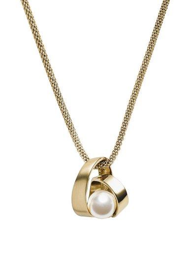 Colier auriu cu perla de la Skagen