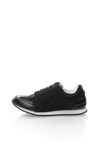 Pantofi sport negri de piele Jeni de la Rachel Zoe