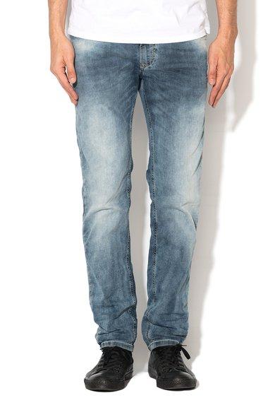 Diesel Jeansi jogg albastri cu aspect decolorat Waykee