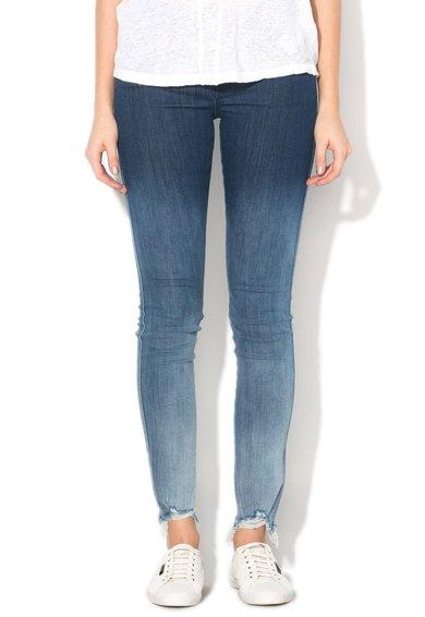 FashionDays.ro: Jeansi super slim fit skinny albastru inchis Skinzee Diesel