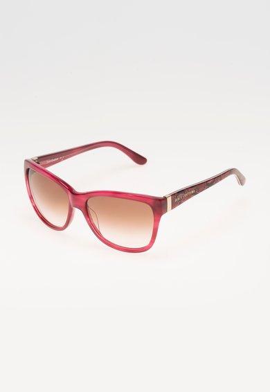 Ochelari de soare roz zmeuriu cu model reptila de la Juicy Couture