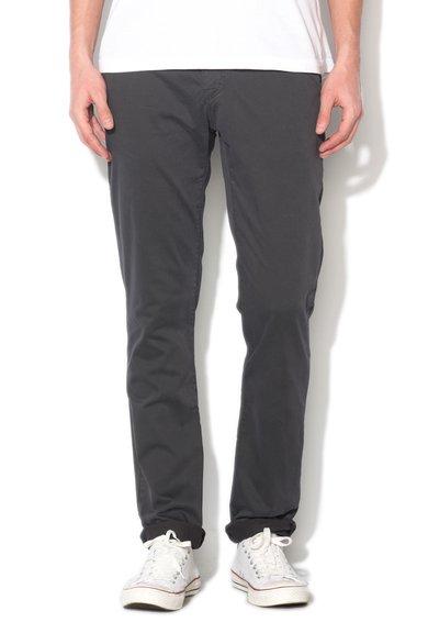 New Zealand Auckland Pantaloni conici gri inchis Napier
